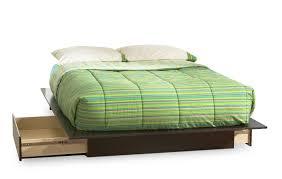 South Shore Step One Dresser White by South Shore Dark Chocolate Queen Wood Storage Platform Bed 3 Piece
