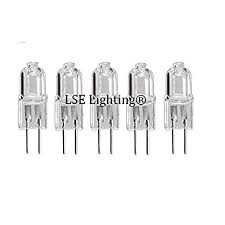 5pack g4 12v 20w jc type lighting halogen bulb 12 volt 20 watt