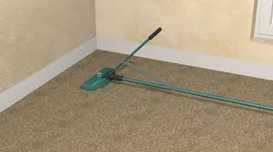 How Does A Carpet Stretcher Work by How To Install Carpet 14 Steps With Pictures Wikihow