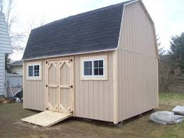 10x15 Storage Shed Plans by Gambrel Barns The Shed Guy