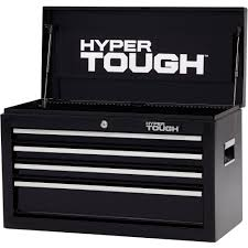 Hyper Tough 4-Drawer Tool Chest With Ball-Bearing Slides, 26