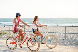 People Riding Bikes On Beach Quotes