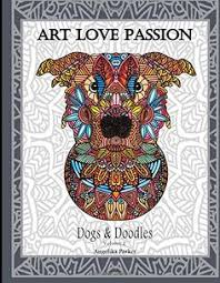 Dogs Doodles Volume 2 By Angelika Parker Amazon Coloring Books