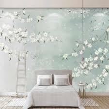 milofi custom 3d tapete wandbild kleine frische aquarell blumen wohnzimmer schlafzimmer hintergrund wand dekoration malerei wallpape