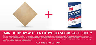 tiling solutions adhesives standard set ready mix rapid set
