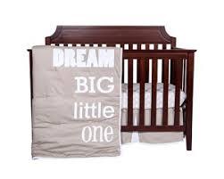 Dream Big Little e 3 Piece Crib Bedding Set Trend Lab