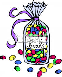Clipart Picture Of A Bag Jelly Beans
