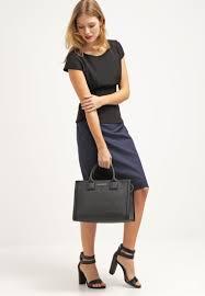 hugo women skirts ronide pencil skirt navy hugo boss suits