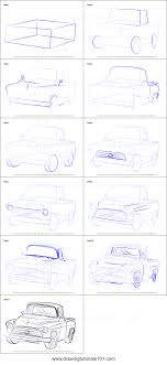 How To Draw A 1955 Chevy Truck Printable Step By Step Drawing Sheet ... Step 11 How To Draw A Truck Tattoo A Pickup By Trucks Rhdragoartcom Drawing Easy Cartoon At Getdrawingscom Free For Personal Use For Kids Really Tutorial In 2018 Police Monster Coloring Pages With Sport Draw Truck Youtube Speed Drawing Of Trucks Fire And Clip Art On Clipart 1 Man