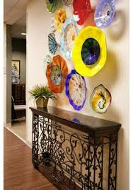 Wall Candy Dish Up Colorful Glass Art Plates