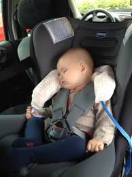 cale tete bebe pour siege auto coussin repose tête pour voyages en voiture mariecarpediem