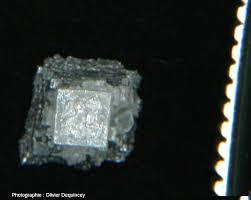 le de cristal de sel la fleur de sel une forme cristalline de la halite chlorure de