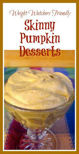 Pumpkin And Cake Mix Weight Watchers by Weight Watchers Pumpkin Dessert Recipes With Points Plus