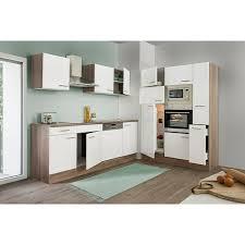 respekta küchenzeile kb370eywmigke breite 370 cm mit