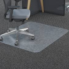 Hard Surface Office Chair Mat by Deflecto 36 X 48 Chair Mat For Carpet And Hard Floor Rectangular
