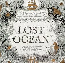 Lost Ocean Coloring Books An Inky Treasure Hunt And Book Adult Children Relax Graffiti Painting Childrens Colouring From
