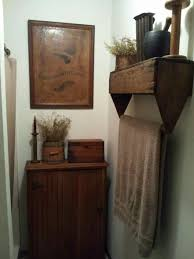 Primitive Decorated Bathroom Pictures by Bathroom Country Primitive Bathroom Decor Primitive Bathroom