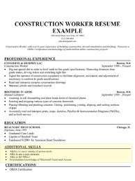 Resume Template With Skills Section Of Examples Best