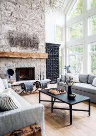 The Living Room Is A Great Example Of How You Can Successfully Pair Metal Work With Rustic Materials To Create Sophisticated Refined Cottage Feel