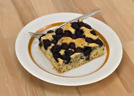 blaubeer schokoladen kuchen vom blech jans küchenleben