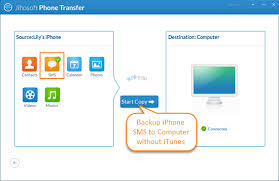 Free Way to Transfer Backup Text Messages from iPhone to puter