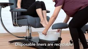 Pipeless Pedicure Chairs Uk by Pipeless Pedicure Chair From Belava Youtube