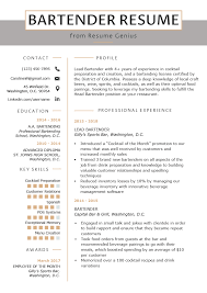 Bartender Resume Example & Writing Guide | Resume Genius Resume Sample Grocery Store New Waitress Canada The Combination Examples Templates Writing Guide Rg Waiter Samples Visualcv Example Bartender Job Description Of An Application Letter For A Banquet Sver Cover Political Internship Skills You Will Never Believe These Grad Katela 12 Pdf 2019 Objective 615971 Restaurant Template For Svers