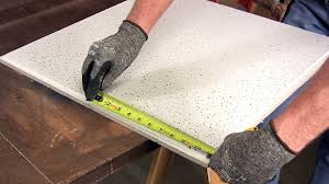 how to cut ceiling tiles family handyman