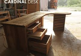 Reclaimed Wood Desk Top Office Furniture Modern Custom Amazon Com Custom Desk Made From Reclaimed Wood Bar Top Any Finish