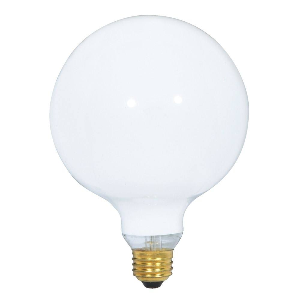Satco S3002 Globe Light Bulb - 60w, 120v