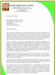 Audit Engagement Letter Sample Philippines