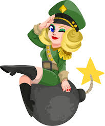 Female Soldier Clipart Free To Use Public Domain Clip Art