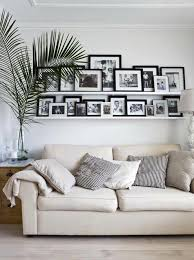 bilderrahmen bilderleiste dekorieren wohnzimmer