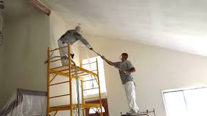 Homax Ceiling Texture Knockdown by Spraying Knockdown Texture Youtube