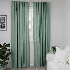 tibast 2 gardinenschals grün 145x300 cm