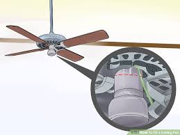 Encon Ceiling Fan Manual by How To Oil A Ceiling Fan With Pictures Wikihow