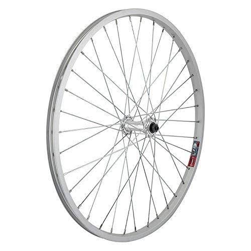 Wheel Master Alloy Quick Release Front Bicycle Wheel - Silver, 24in x 1.75in