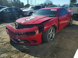 2014 CHEVROLET CAMARO SS s Salvage Car Auction Copart USA