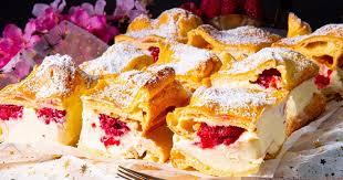 einfaches rezept karpatka polnischer puddingkuchen mit