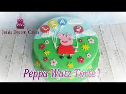 peppa wutz torte einfache anfängertorte