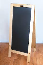 diy chalkboard the home depot diy chalkboard chalkboard easel