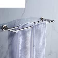 edelstahl handtuch regal bad doppelstange handtuchhalter