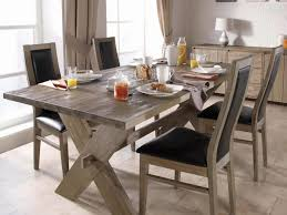 Furniture Large Rustic Dining Room Table Chairs High Top Farmhouse