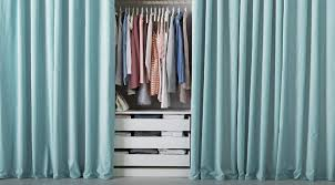 sanela curtains turquoise tekstiler og tepper til soverom ikea on we it