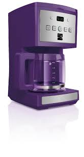Kenmore 12 Cup Programmable Coffee Maker Purple