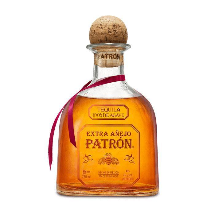 Patron Tequila, 100% De Agave, Imported, Extra Anejo - 750 ml