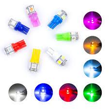aliexpress buy 10pcs led t10 led bulbs 5 smd 5050 led 194