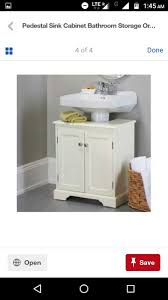 Weatherby Bathroom Pedestal Sink Storage Cabinet by Under Sink Storage Unit White From Homebase Co Uk Ideas For