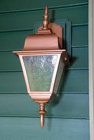 easy thrifty exterior light makeover living rich on lessliving