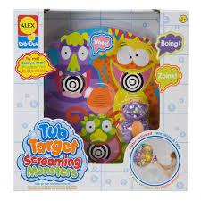 alex toys rub a dub tub target screaming monsters alexbrands com